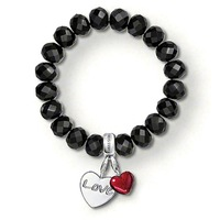 TB0132(Min.Order $15 ) 2013 New Items Thomas Style Gifts 925 Silver Plated Bracelets Two Charms Love Bracelet Cheap Jewelry