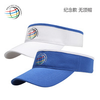 FREE SHIPPING Golf ball cap crownless Men cap occasion crownless sun-shading hat HOT