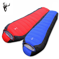 Ultra-light down sleeping bag thickening winter outdoor products field set tent sleeping bag