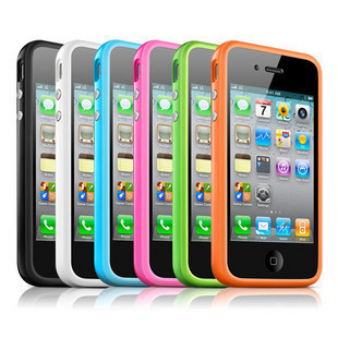 For apple    for iphone   4s 4g fashion mobile phone protective case shell ring