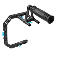 FOTGA DP3000 top handle cage bracket suppot rig for 15mm DSLR rod follow focus