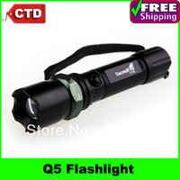 SacredFire 716 CREE Q5 270 Lumen LED 3 Modes Adjustable Flashlight Torch Light, 1*18650,