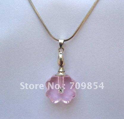 Frete grátis!!! 50pcs/lot de cristal nova moda frasco de vidro jóias pingente(China (Mainland))