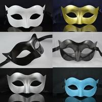 5pcs/lot Free shipping masquerade masks for men venetian masks sale black and silver masquerade masks-cheap