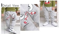 Free Shipping! (5 pieces/lot) new style cotton baby sport pants fashion boy harem pants spring children trousers