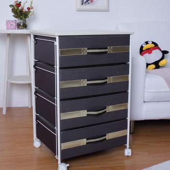 Drawer storage cabinet clothes storage cabinet shelf bedsprings storage box side table