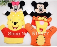 Cute cartoon/bath flower children bath gloves