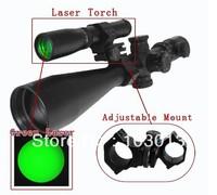 Night vision Hunting Laser Flashlight Designator Green Dot Sight Scope with Adjustable Mount ND-30 free shipping