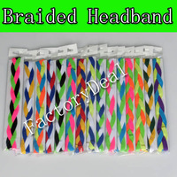 Baseball headband sports braided mini headband