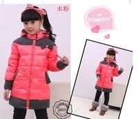 Free shipping 2014 new children's clothing children boys and girls down jacket down jacket down jacket fashion baby