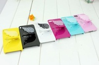 25pcs/lot,Colorful SGP Case With Angel Wing Style Stand/Holder Hard Back Cover Case For Iphone 5 Case,Mix Color