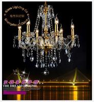 2014 Rushed Lustres Home Decoration New Arrivals European Modern Style Chandelier, K9 Chandelier E14 Bulb Base Power Ac110v-240v