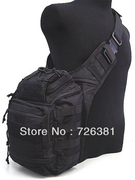 Free shippingMulti Purpose Molle Gear Shoulder Bag Black