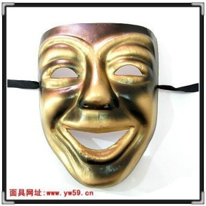 Movie theme mask Halloween costume ancient Greek Dionysian Smiley Face Masks anime cry