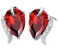 fashion tear stud earrings for girl fashion jewelry 2013 Austria crystal girl's stud women's earring f wholesale  #8273