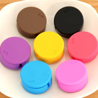 120 at home candy color mobile phone screen wipe earphones cable winder cable winder