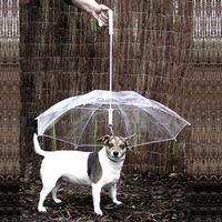 Pet umbrella dog cat rain-proof  raincoat  teddy puppy small dogs