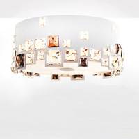 Brief circle ceiling light crystal lamps personalized lighting