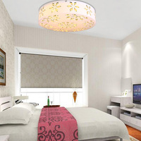 Modern fashion crystal ceiling light romantic bedroom lamps brief decorative lighting
