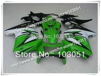 Body kit for ninja 250r fairing 08 09 10 11 12 ZX 250R EX250 fairings 2008 2009 2010 2011 2012 glossy green white black SX46