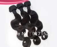 Indian Virgin hair 3Bundles/lot Unprocessed  remy hair extension No shedding  No lice Tangle free