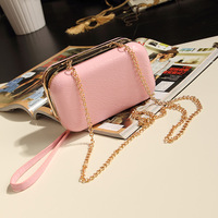 free shipping high quality fashion candy color women's shoulder bags day clutch mini bag evening bag