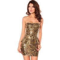 Clothing fashion dress small dress slit neckline one-piece dress