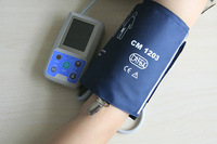 Arm 24 hours Ambulatory Blood Pressure Monitor Holter ABPM BP Monitor with software, Pediatric to Adult, Free shipping