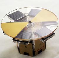 Round Solar Magnetic Levitation Motor Creative Gift Toys Model CJ172