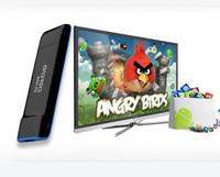 Free shipping Google tv box dual core mini PC xbmc android tv  media player smart receiver