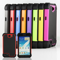 Rugged Silicone Heavy Duty Case Cover Skin For Samsung Galaxy Note II 2 N7100