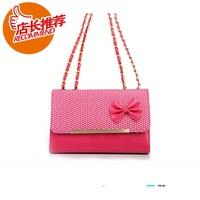 Women's handbag  women's handbag bags women's handbag bow 1279 female shoulder bag  Free Shipping
