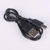 USB Cable 5PIN MINI B TO A USB 2.0 Cable for Camera PSP MP3 10Pcs/lot Free Shipping