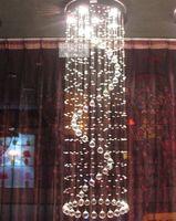 modern crystal ceiling light/ crystal chandelier/ Dia500*H2000mm K9 crystal + free shipping