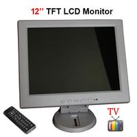 12 inch TFT LCD 4:3 Screen VGA/AV Input Car Monitor with Analog TV HDMI