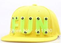 New Arrival Fashion Snapback Cap and Hat with Acrylic Logo, NE shape, flat visor 8pc/lot, Free Shipping