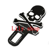 Automotive interior decoration car labeling / skull key chain buckle