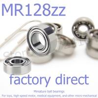 50pcs/lot high-quality goods model bearing MR128 Z MR128ZZ 617/8ZZ L-1280ZZ 678ZZ 8*12*3.5 mm helicopter model car available