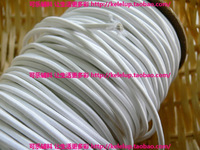 3mm rubber thread elastic rope round elastic rope rubber thread rubber band elastic rope diy white