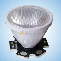 New arrive 10pcs 60 degrees LED Lens Reflector For Cree XPE XPG  XTE Lamp Light Free Shipping