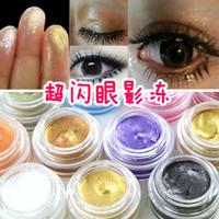 5 gold smoked white eye shadow moisturizing eye color brighten eye shadow cream pearlizing basic
