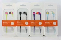Sweet style candy earbuds 10pcs/lot multi colors fruit flat cable earphones for ipod,itouch+retail box Free HK post shipping