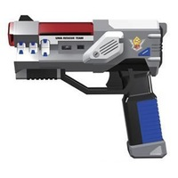 Silverlit gold toy gun artificial gun infrared gun 85227std