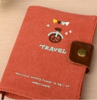 Special Offer Rushed Fresh Transpierce Korea Stationery Travel Series Memory On Cances Strap Buckle Notebook Handmade Book
