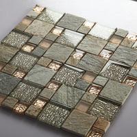 638 rosin jade mosaic tile wall mosaic wall stickers glass mosaic