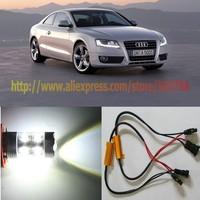 Free Shipping 2X 50W Xenon White Resistors NO Error H11 Cree LED Headlight FOR Audi A5 2007