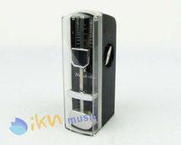 Mini Metronome Black Color with Plastic Cover Super Mini Metronome
