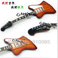 Brand New Thund Bird Cherry Sunburst Electric Guitar Explore Free Shipping 6 strings fire bird
