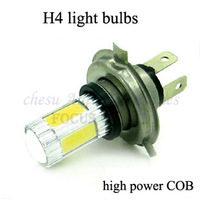 new style H4 COB  Led  fog  light  Lamp Car 22W Auto high power light bulbs in white  colors for free shipping