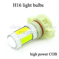 new style H16  COB  Led  fog  light  Lamp Car 22W Auto high power light bulbs in white  colors for free shipping